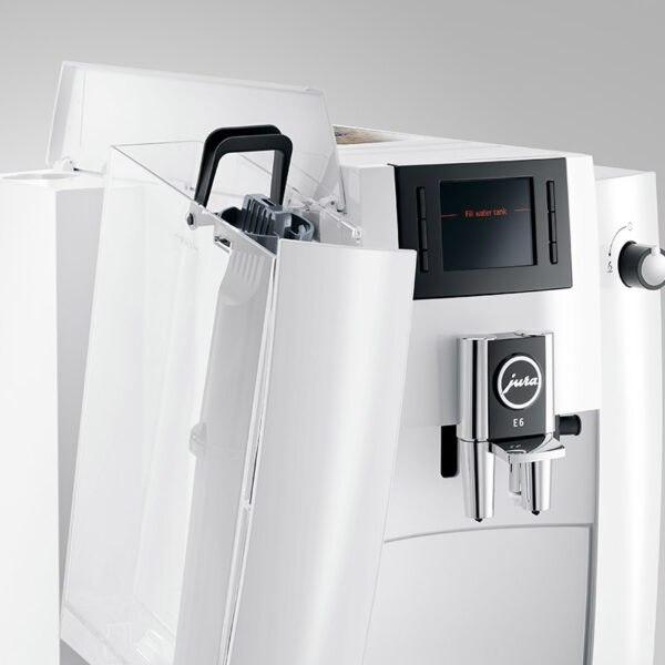 Jura E6 Piano White